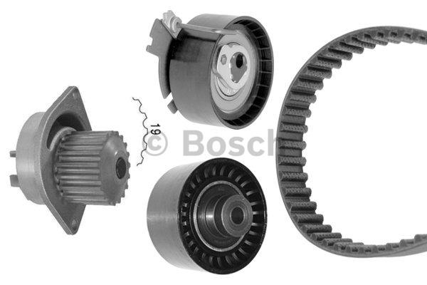 BOSCH Timing Belt Water Pump Kit 1987948711