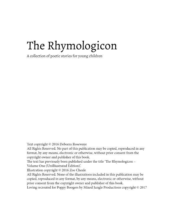 Page 3 of The Rhymologicon
