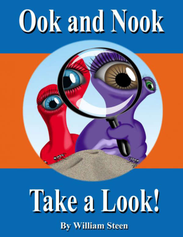 Book cover for Ook and Nook Take a Look by William Steen &