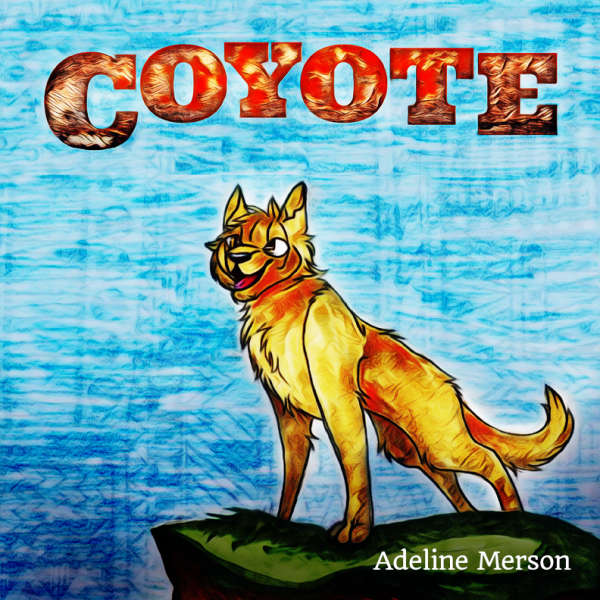 Book cover for Coyote by Adeline Merson &