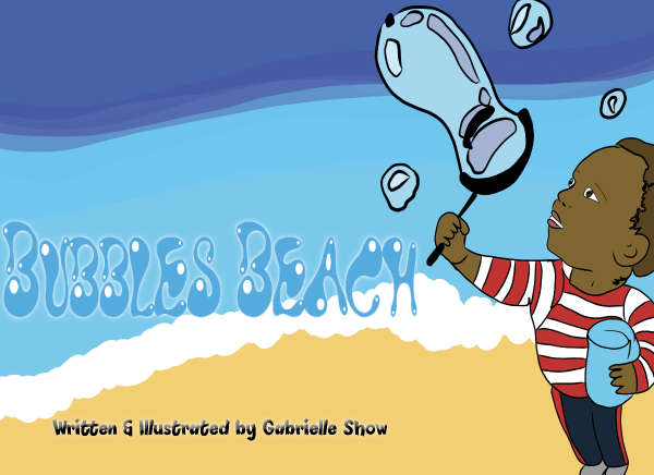 Book cover for Bubbles Beach by Gabrielle Show &