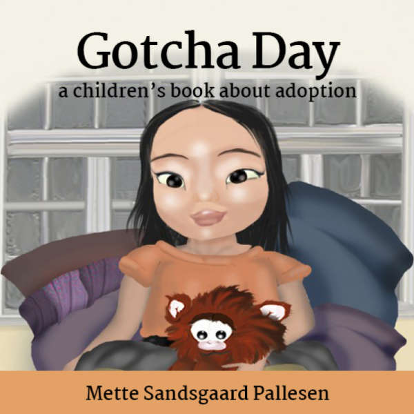 Book cover for Gotcha Day by Mette Sandsgaard Pallesen &