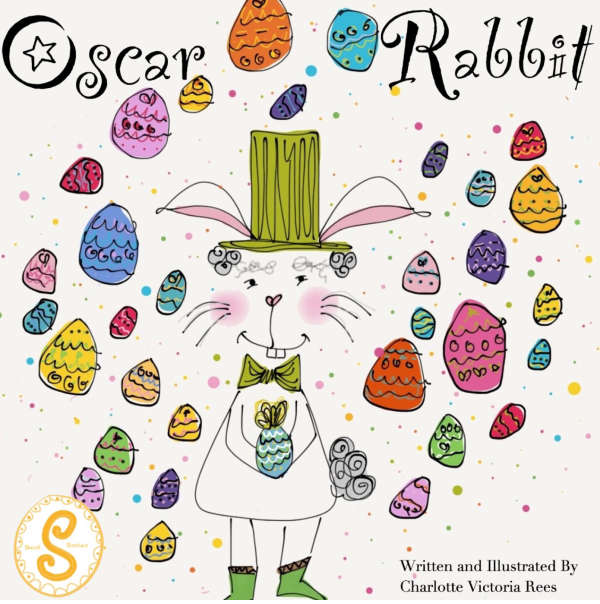 Book cover for Oscar Rabbit by Charlotte Victoria Rees &