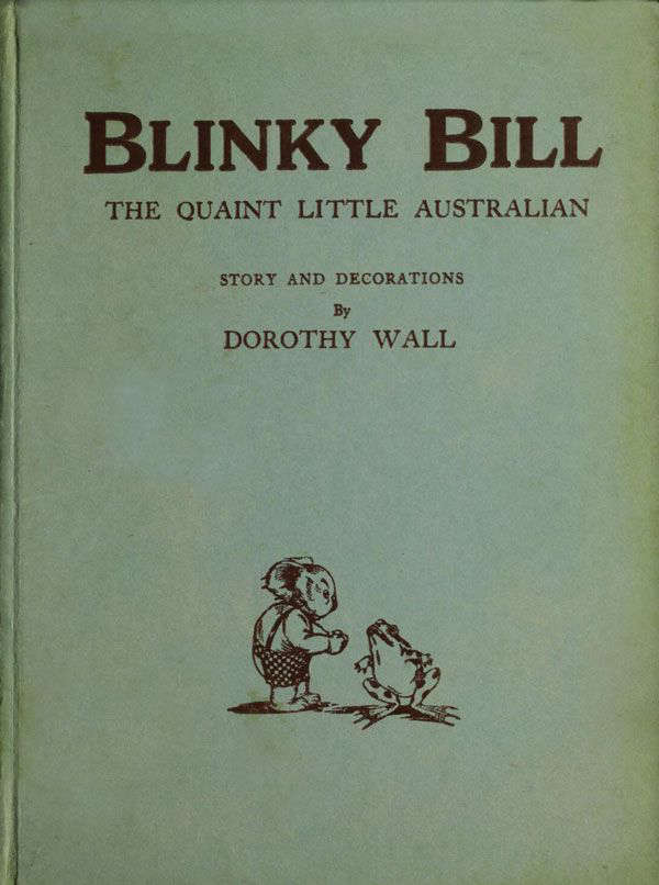 Book cover for Blinky Bill by Dorothy Wall &