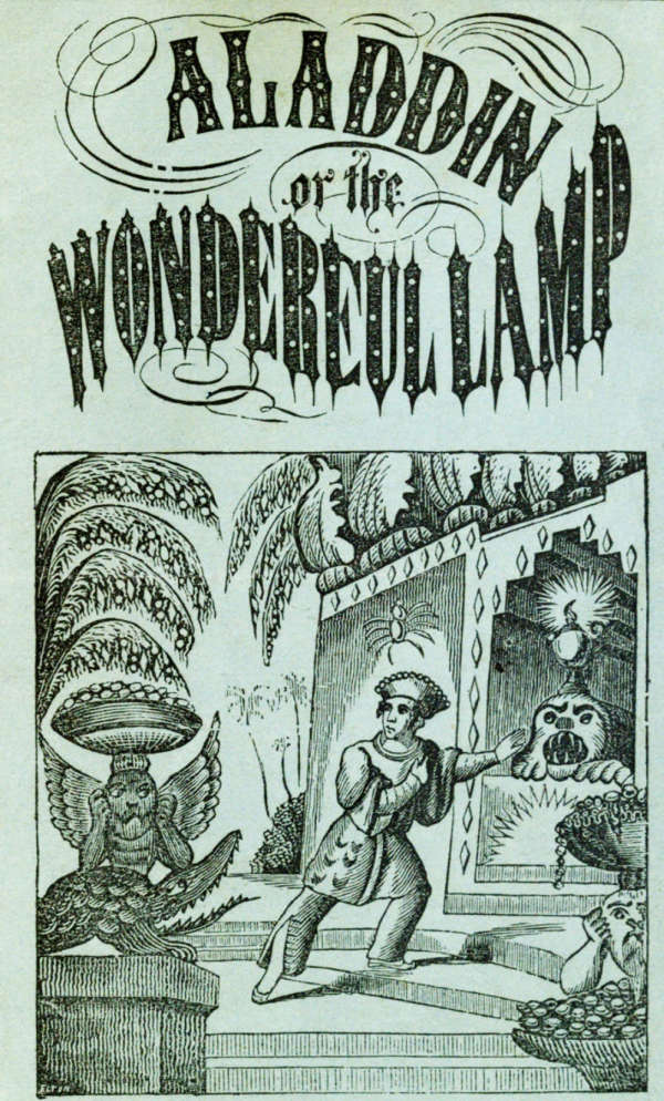 Book cover for Aladdin or The Wonderful Lamp by Unknown &