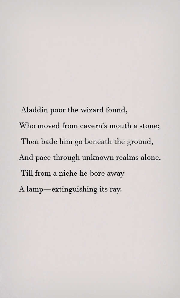 Page 3 of Aladdin or The Wonderful Lamp