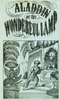 Aladdin or The Wonderful Lamp - book cover