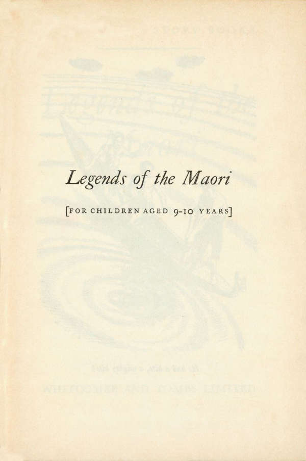 Page 3 of Legends of the Maori