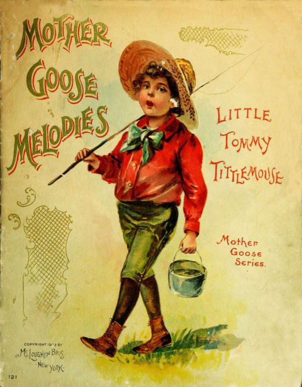 Book cover for Mother Goose Melodies by Unknown &
