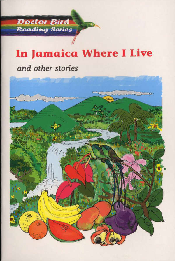 Book cover for In Jamaica Where I live by Karl Philpotts & Errol Stennett