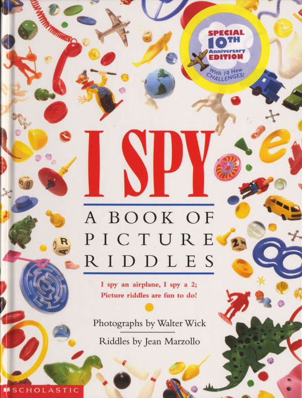 Book cover for I Spy by Jean Marzollo & Walter Wick