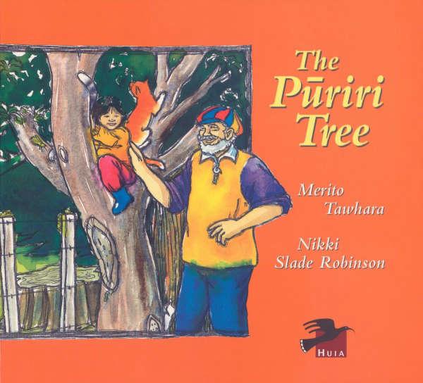 Book cover for The Pūriri Tree by Merito Tawhara & Nikki Slade Robinson