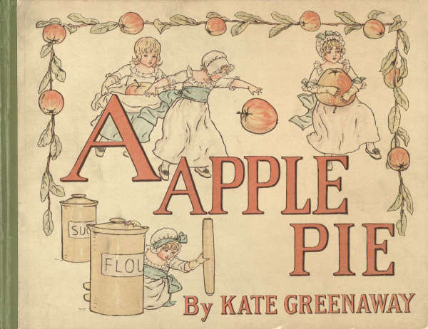 Book cover for Apple Pie by Kate Greenway &