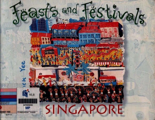 Book cover for Feasts and Festivals of Singapore by Vivian Tan & Patrick Yee