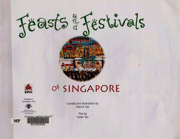 Page 2 of Feasts and Festivals of Singapore
