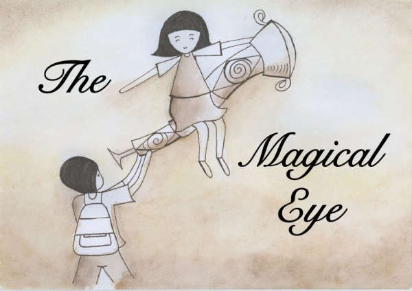 Book cover for Magical Eye by Violet Lim Zi Yan &
