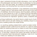 Australian wedding inspiration | Polka Dot Bride