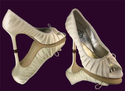 Wedding Shoes Direct on Xiomara Shoes Inspiration   Polka Dot Bride