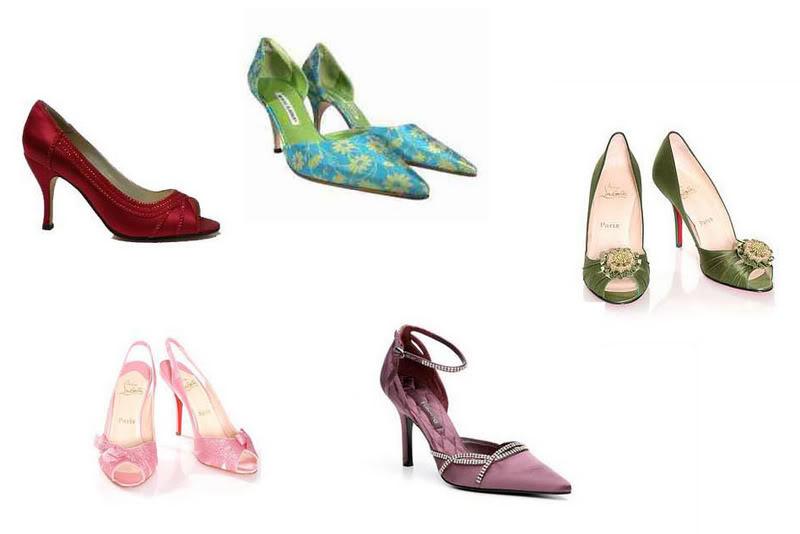 Shoes1 Coloured Bridal Shoes
