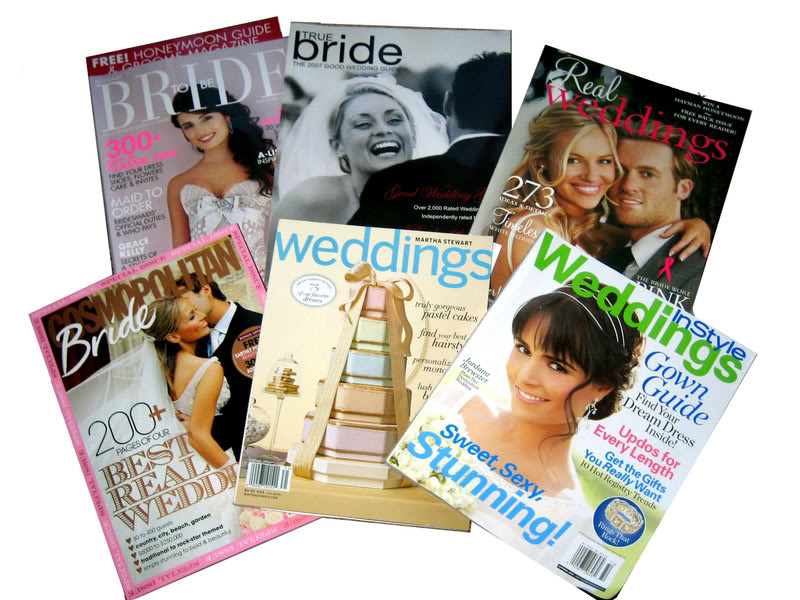 6 Wedding Magazines Make The World Go Round