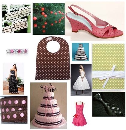collagenumberonepolkadotbride Your Guide To a Polka Dot Wedding