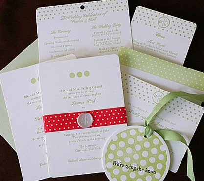 lauren robert 3 Your Guide To a Polka Dot Wedding