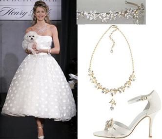 maya largebridalwave Your Guide To a Polka Dot Wedding