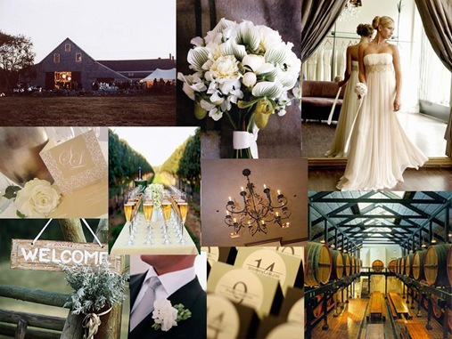 A rustic barn wedding with a touch of glamour