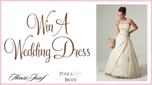 winaweddingdress3 Win A Wedding Dress! with Polka Dot Bride