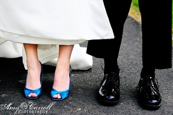 acp 8201copy Coloured Wedding Shoes In Action