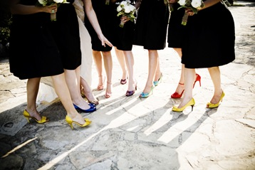 laurakayphoto Coloured Wedding Shoes In Action