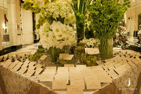justineungaro ABC Of Weddings: T Is For Tables