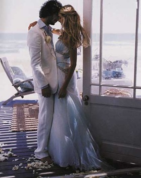1 beach wedding Groom Style: A Beach Wedding