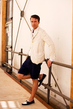 2 shorts sportcoat Groom Style: A Beach Wedding