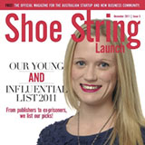 """Shoe String Launch Magazine """"Young & Influential List 2011"""" November 2011"""