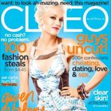 """Cleo Magazine """"Wedding Websites"""" July 2010"""