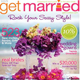 "Get Married Magazine Summer 2010 ""Best Loved Blogs"" May 2010"