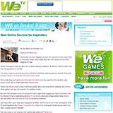 """WETV- WE Go Bridal """"Best Online Sources For Inspiration"""" November 2008"""