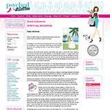 "Psyched In Stilettos Guest Columnist ""Spiritual Weddings"" September 2008"