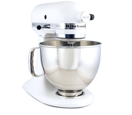 peter s of kensington kitchenaid artisan ksm150 mixer white Four Things