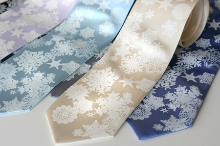 you flake winter ties Creative Ties For The Groom