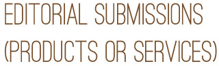 editorial sub header Submissions