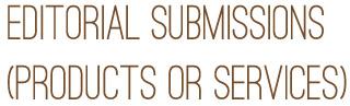 editorial sub header