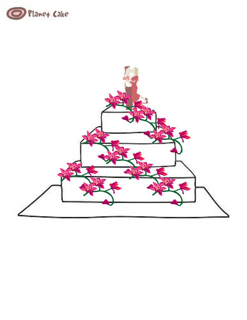 33 Win Your Dream Wedding Cake The Entries