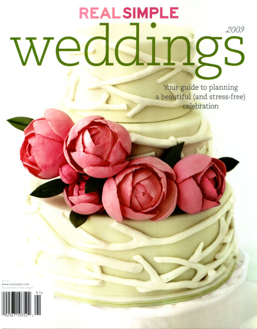 cover Real Simple Weddings Magazine