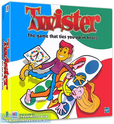 online toys australia family games twister the game that ties you up in knots Valentines Day Gift Ideas