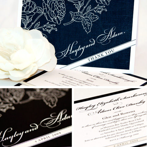 black rose What Would They Know? Natalie of Dizzy Wizzy Stationery Design