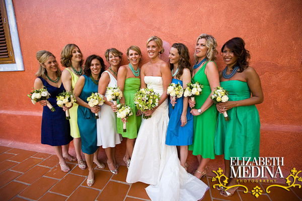 604 emedina blog 21 Mismatched Bridesmaids