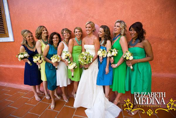 604 emedina blog 21 Mismatched Bridesmaids