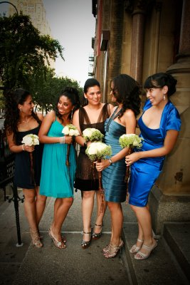 bettyjuan1 Mismatched Bridesmaids